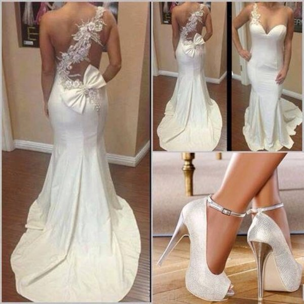 dress white dress marry