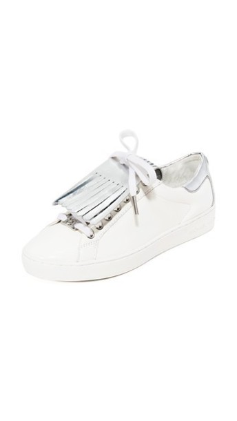 MICHAEL Michael Kors sneakers silver white shoes
