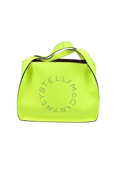 Stella McCartney bag tote bag fluo yellow