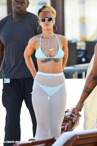 skirt rihanna bikini