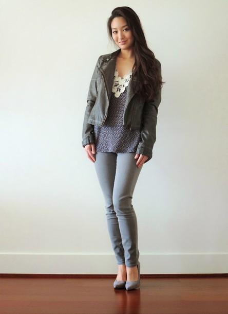 sensible stylista blogger shoes top jacket