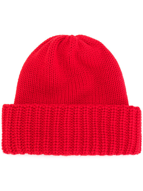 women beanie red hat