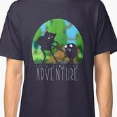 t-shirt,geek,cartoon,adventure time shirt