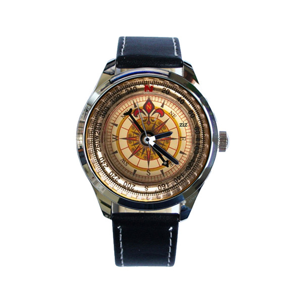jewels watch watch unusual watch compass compass watch unique watch cool watch leather watch ziziztime ziz watch