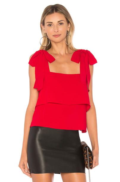 Amanda Uprichard red top