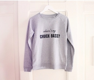 sweater gossip girl chuck bass grey