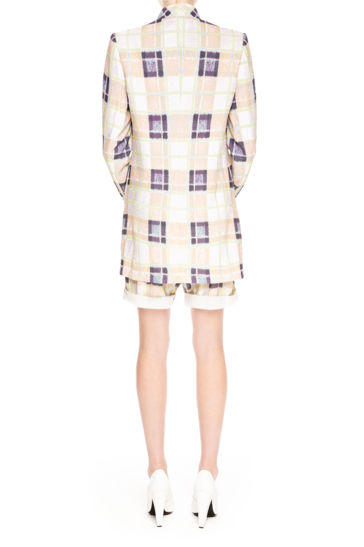 Finders Keepers GET AWAY BLAZER TARTAN PEACOAT - BNKR