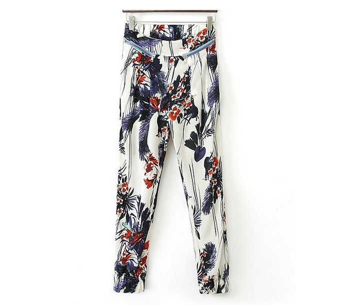 The jungle of elegance pants