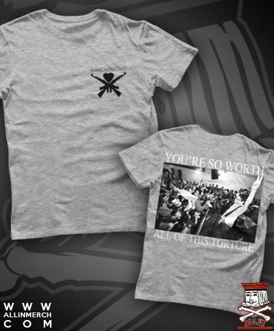 MAN OVERBOARD TORTURE LIVE TEE