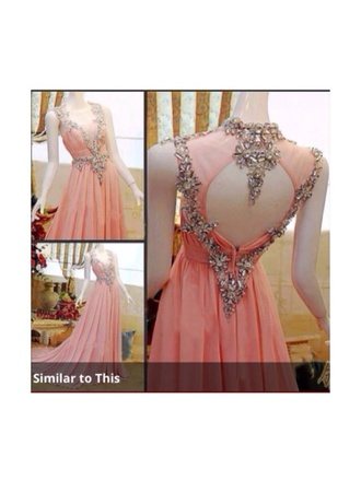 dress prom dress long prom dress runway red carpet pink dress jwels jewels flashy pretty nude pink prom glitter dress cute dress