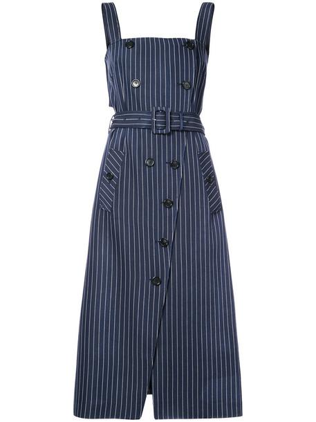 Altuzarra dress striped dress women blue