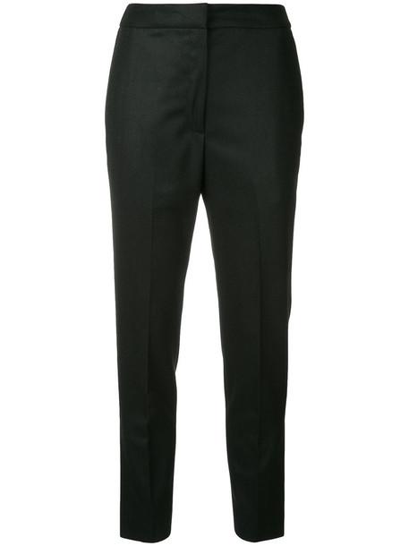 H Beauty & Youth cropped women black wool pants