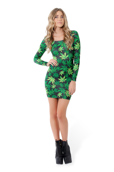 Woah Dude 2.0 Long Sleeve Dress › Black Milk Clothing