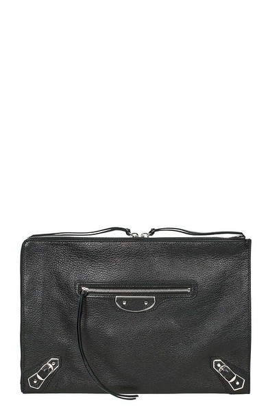 Balenciaga classic pouch black bag