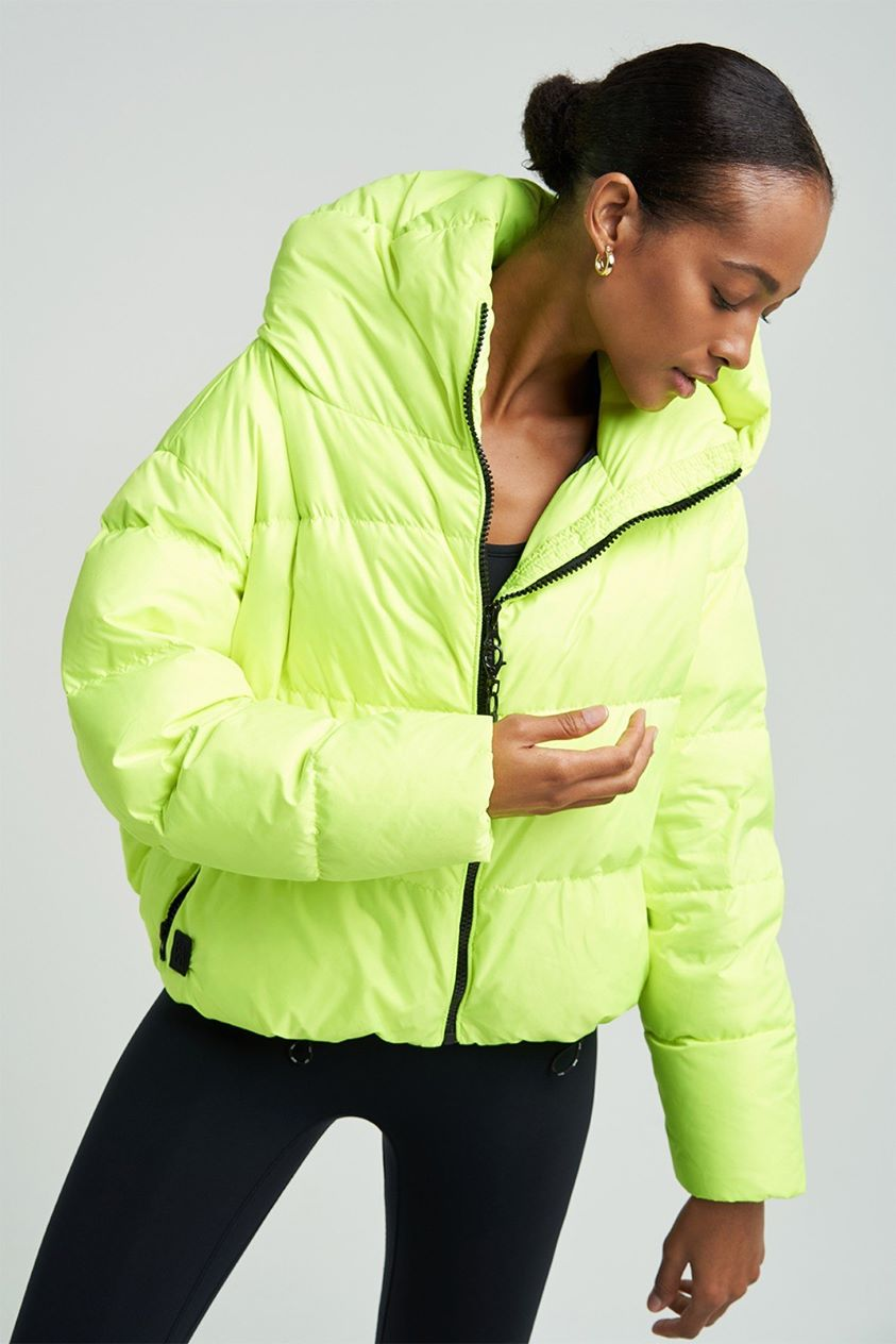 Cloud Neon Yellow Jacket