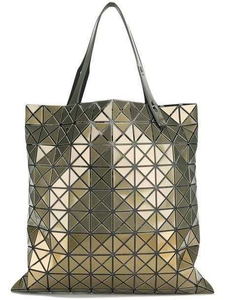 BAO BAO ISSEY MIYAKE women geometric grey metallic bag