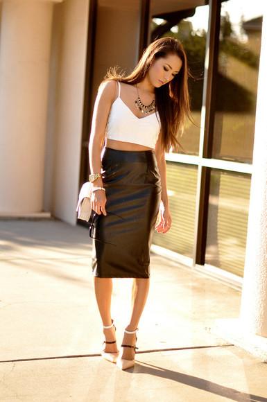 hapa time top shoes jewels bag skirt