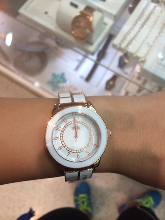 jewels watch women's rose gold rosegoldwatch michael kors