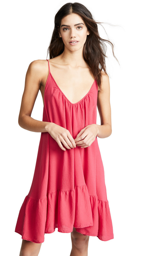 9seed St. Tropez Dress in red