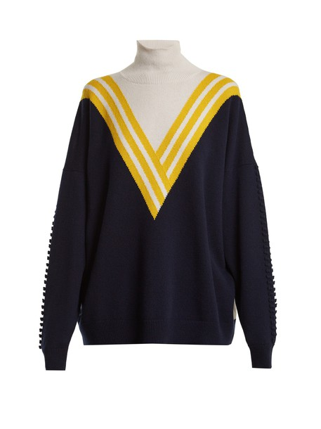 Barrie sweater navy