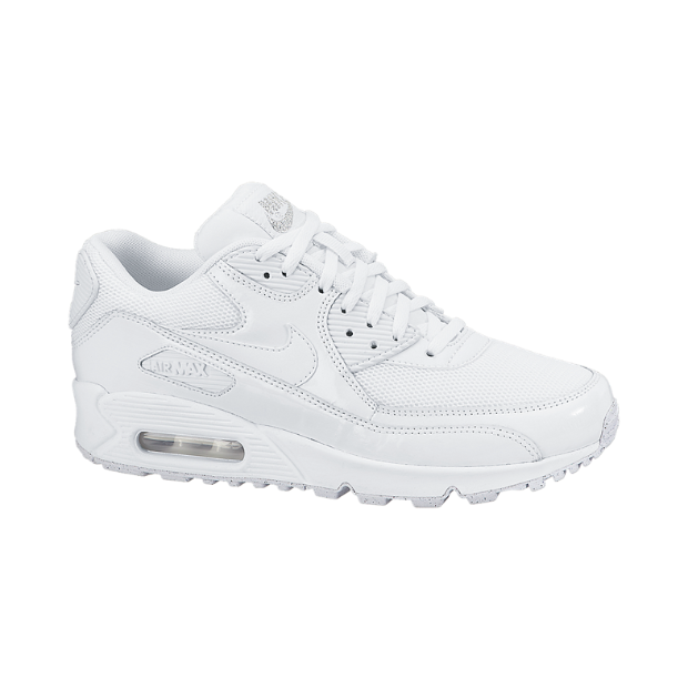 white nike air max 90 junior
