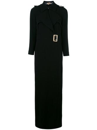 dress wrap dress women black