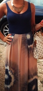 dress,maxi,black,blue,long,ootd,ootn,holidays,summer,spring,festival,topshop,zara,bershka,fashion,style,outfit,look,ubran outfitters,lookbook,jewels