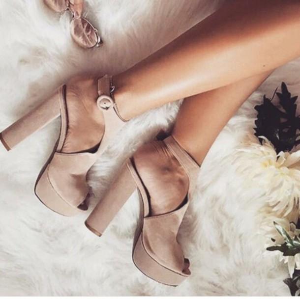 shoes heels chunky heels high heel sandals