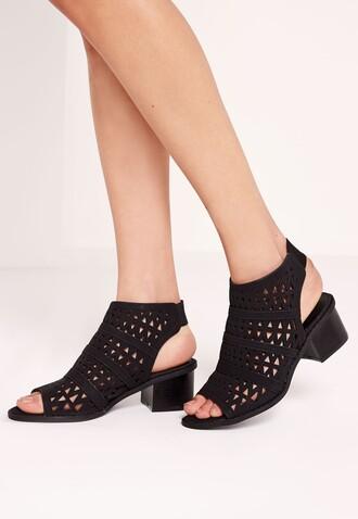 shoes mesh black shoes open toes black sandals