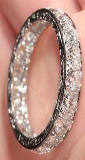 jewels,jewelry,silver,bracelets,ring,diamond band,wedding ring,diamond ring,shiny,sparkle jewelry
