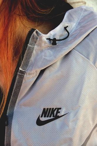 jacket nike nike jacket windbreaker white black black and white