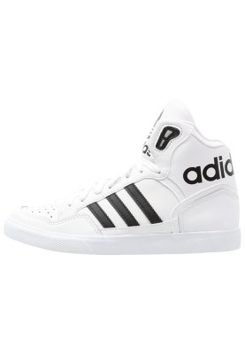 adidas Originals EXTABALL - High-top trainers - running white/black - Zalando.co.uk