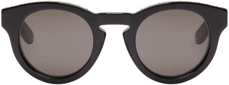 studded sunglasses black