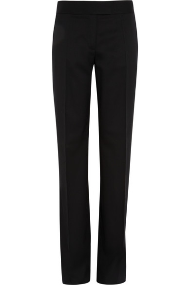 Stella McCartney | Jasmine wool-twill wide-leg pants | NET-A-PORTER.COM