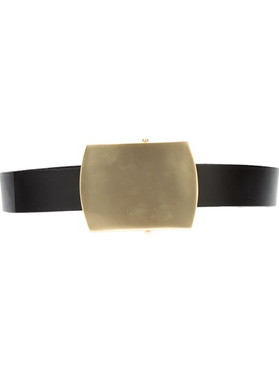 Calvin Klein Collection Buckle Belt - Jean Pierre Bua - Farfetch.com