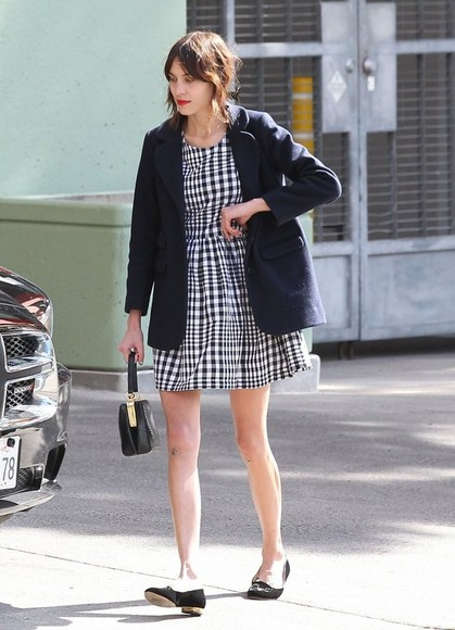 alexa chung dress short dress