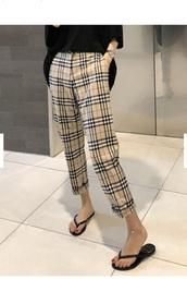 pants,girly,girl,girly wishlist,burberry,burberry style