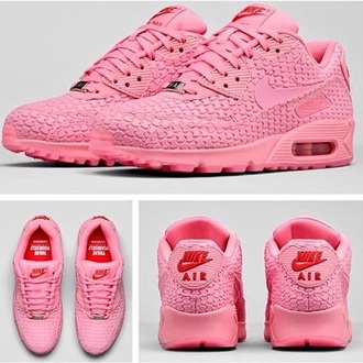 shoes pink nike air soldout