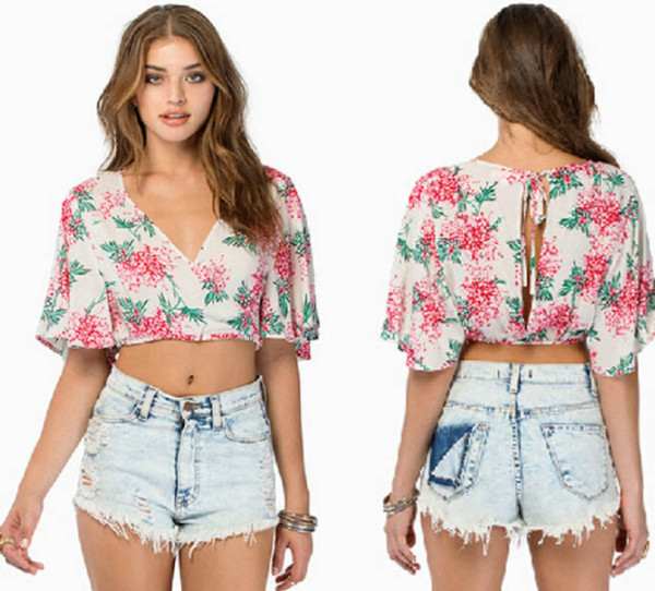 top clothes topcrop top