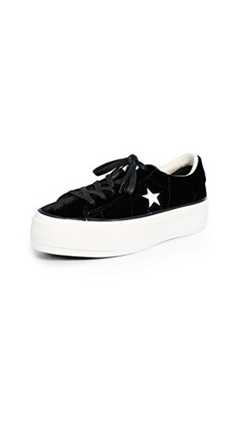 converse sneakers black shoes