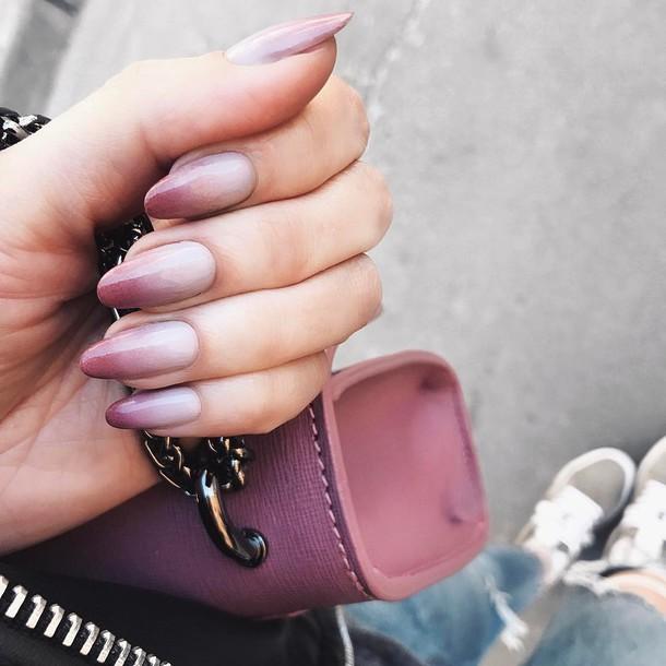 nail accessories, tumblr, nail polish, nails, nail art, ombre ...