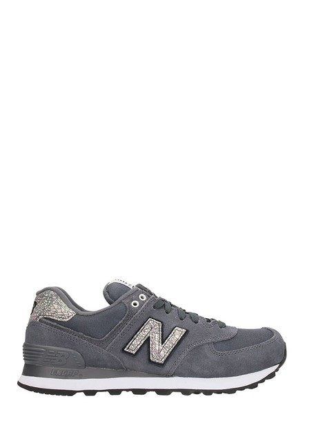 New Balance sneakers suede grey shoes