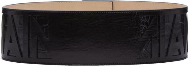 Balmain belt logo belt black
