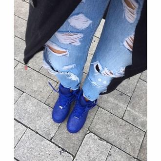 shoes blau blue blue shoes