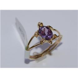 Amethyst Ring Diamond Candles