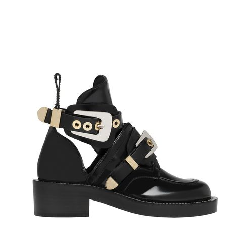 Balenciaga Ceinture Ankle Boots Balenciaga - Ankle Boots Women color Black - Shoes Balenciaga