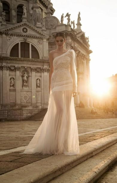dress white tulle dress