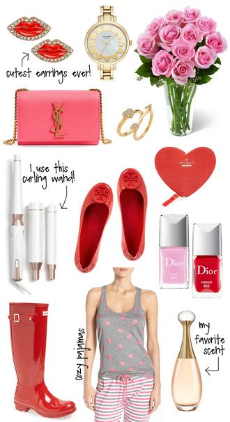 southern curls and pearls blogger jewels bag nail polish shoes pajamas