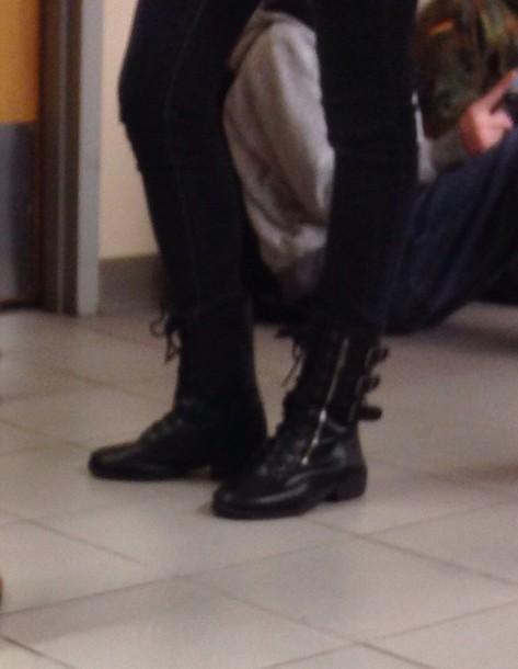shoes boots black black boots