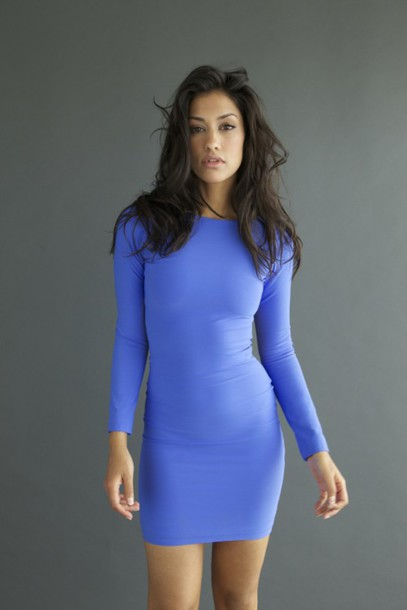 Tight Sleeve Dress